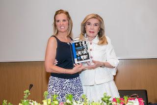 Η Μαριάννα Βαρδινογιάννη και η Κερυ Κέννεντι