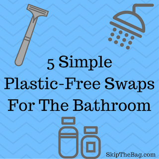 ways to minimize plastic and waste in the bathroom