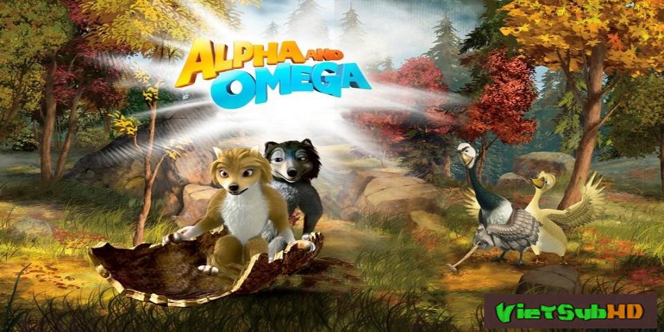 Phim Thủ Lĩnh Sói Xám VietSub HD | Alpha And Omega 2010