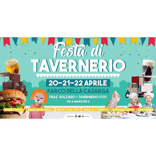 Festa street food 20-21-22 aprile Tavernerio (CO)