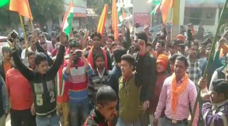 हद हो गई यार! भाजपाईयों ने कासगंज के विरोध में शाहजहांपुर तनाव करवा दिया | NATIONAL NEWS
