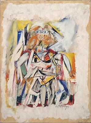 Willem De Kooning - woman,ca 1952.