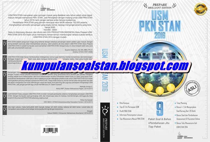 Buku Prepare Usm Pkn Stan Briliant Edition
