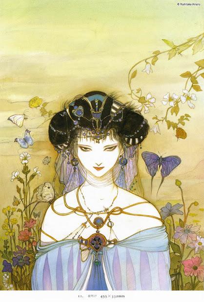 Works Of Amano Yoshitaka - Juuri Art