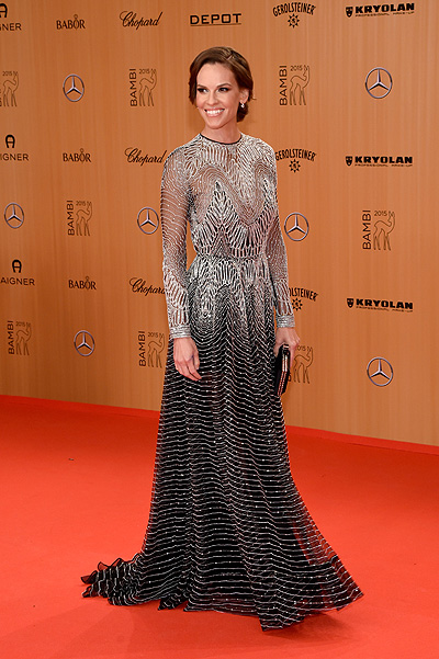 Hilary Swank at Bambi Awards-2015