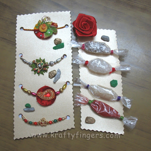 Rakshabandhan 2012: Rakhi Packing