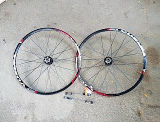 Wheel set 26 inch Vuelta Fusion SL
