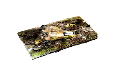 1 x 150mm Long Crash Site Terrain Piece picture 1
