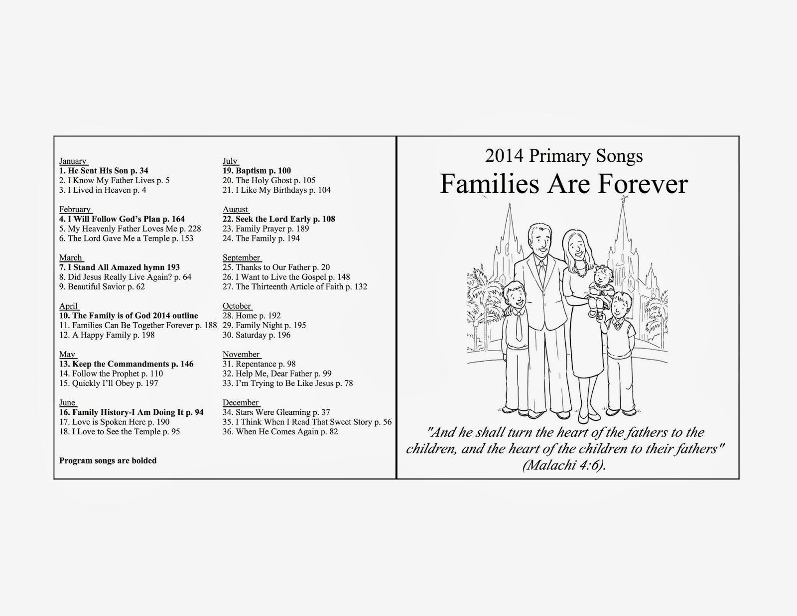 Lds Funeral Program Template