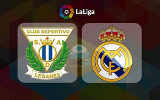 مباراة الريال مدريد وليغانيس في دورى اسبانيا يلا شوت yalla shoot