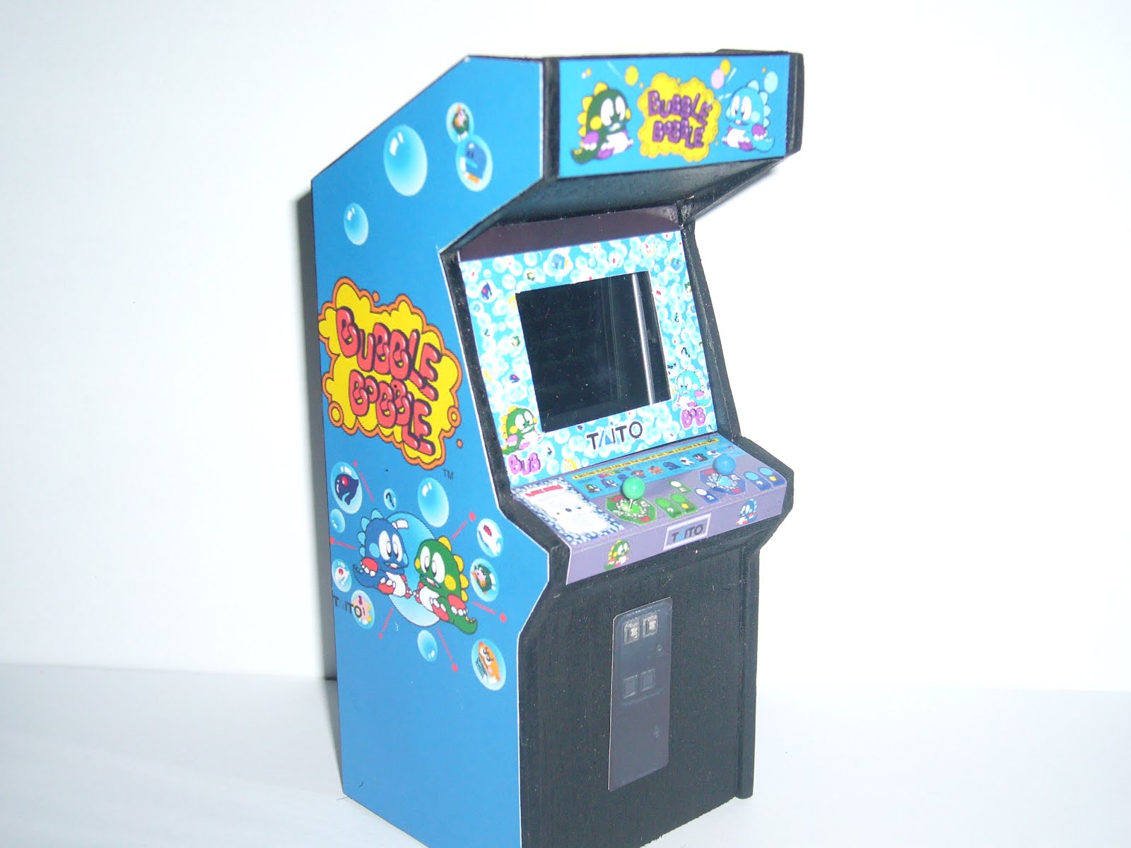 Retro Heart Bubble Bobble With Real 1 5 Inch Lcd Screen