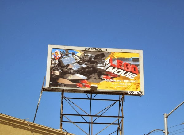 Batman Lego Movie billboard