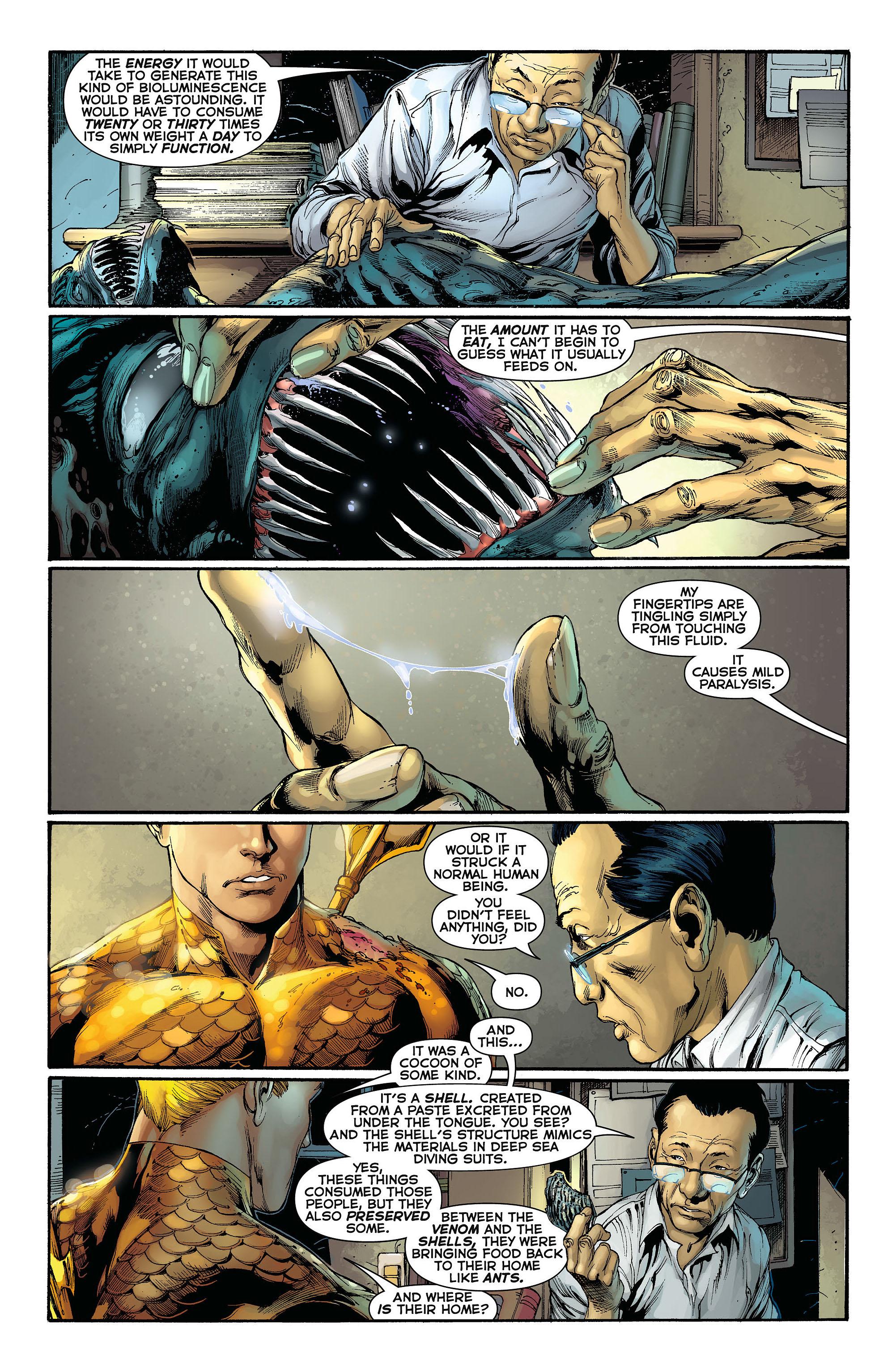 Read online Aquaman (2011) comic -  Issue #3 - 17