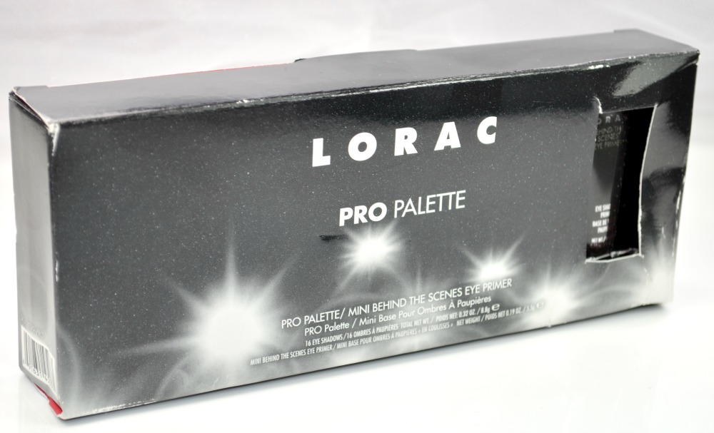 Image of the palette in the box with the primer