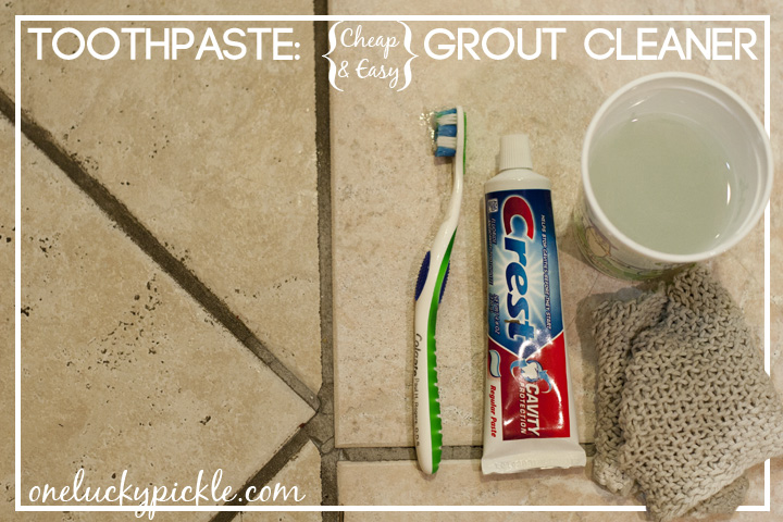 Use Toothpaste To Clean Your Grout