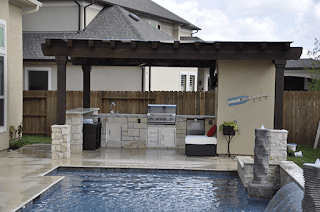 Custom Outdoor Patio Construction DFW 25