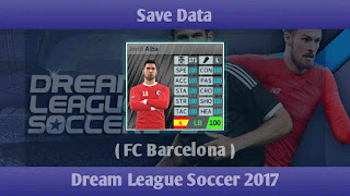 Save Data FC Barcelona Dream League Soccer 2017