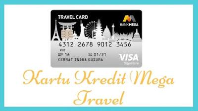 Limit kartu kredit mega travel