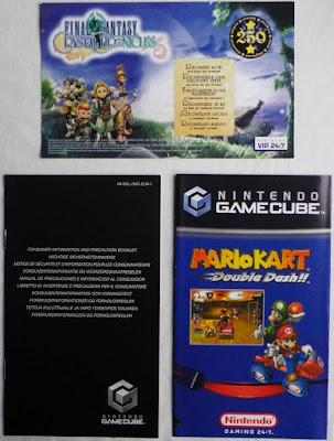 Final Fantasy Crystal Chronicles - Puntos estrella, folletos precaución y publicidad