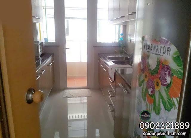 Saigon Pearl apartment kitchen