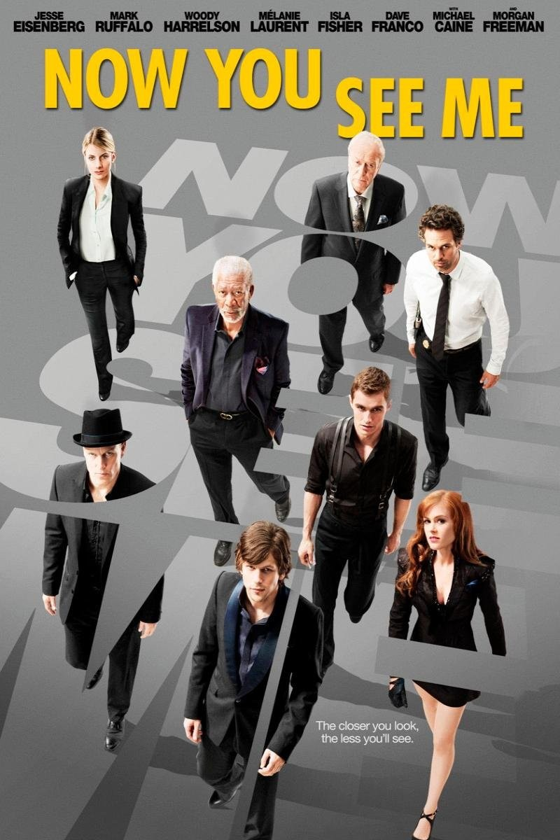 Movie Review: Now You See Me [2013]