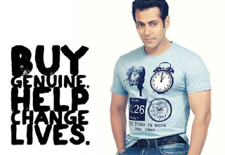 Indian Bollywood Actor Salman Khan Being Human