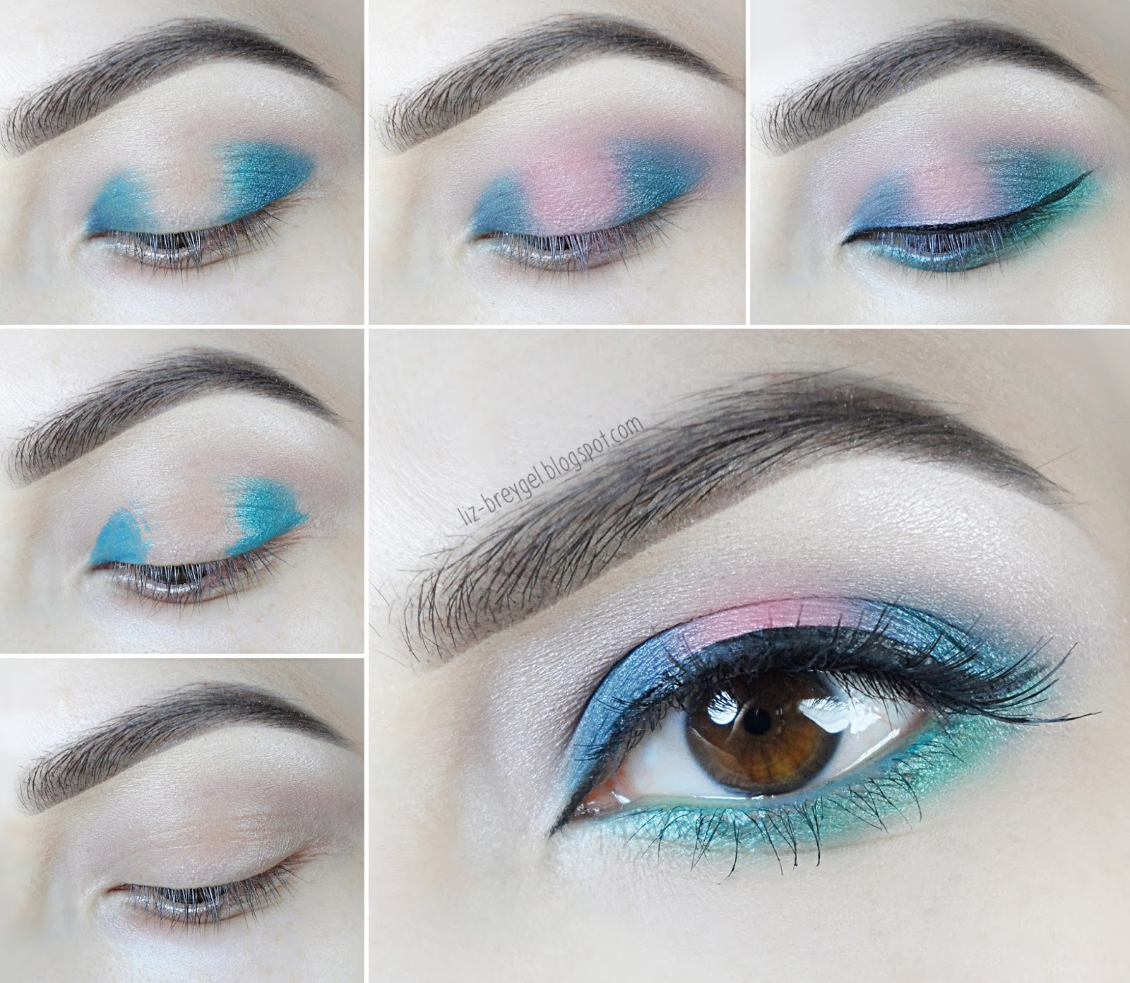 step by step makeup tutorial pictorial