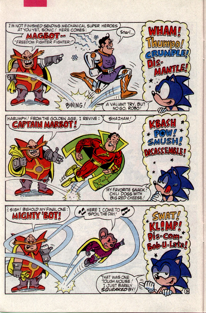 Read online Sonic The Hedgehog comic -  Issue #8 - 11