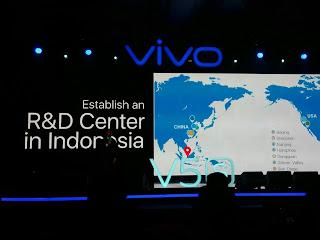 Peluncuran  Vivo V5s  Dengan fitur Kece Softlight Perfect Selfie