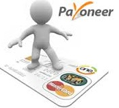 3d man on payoneer mastercard