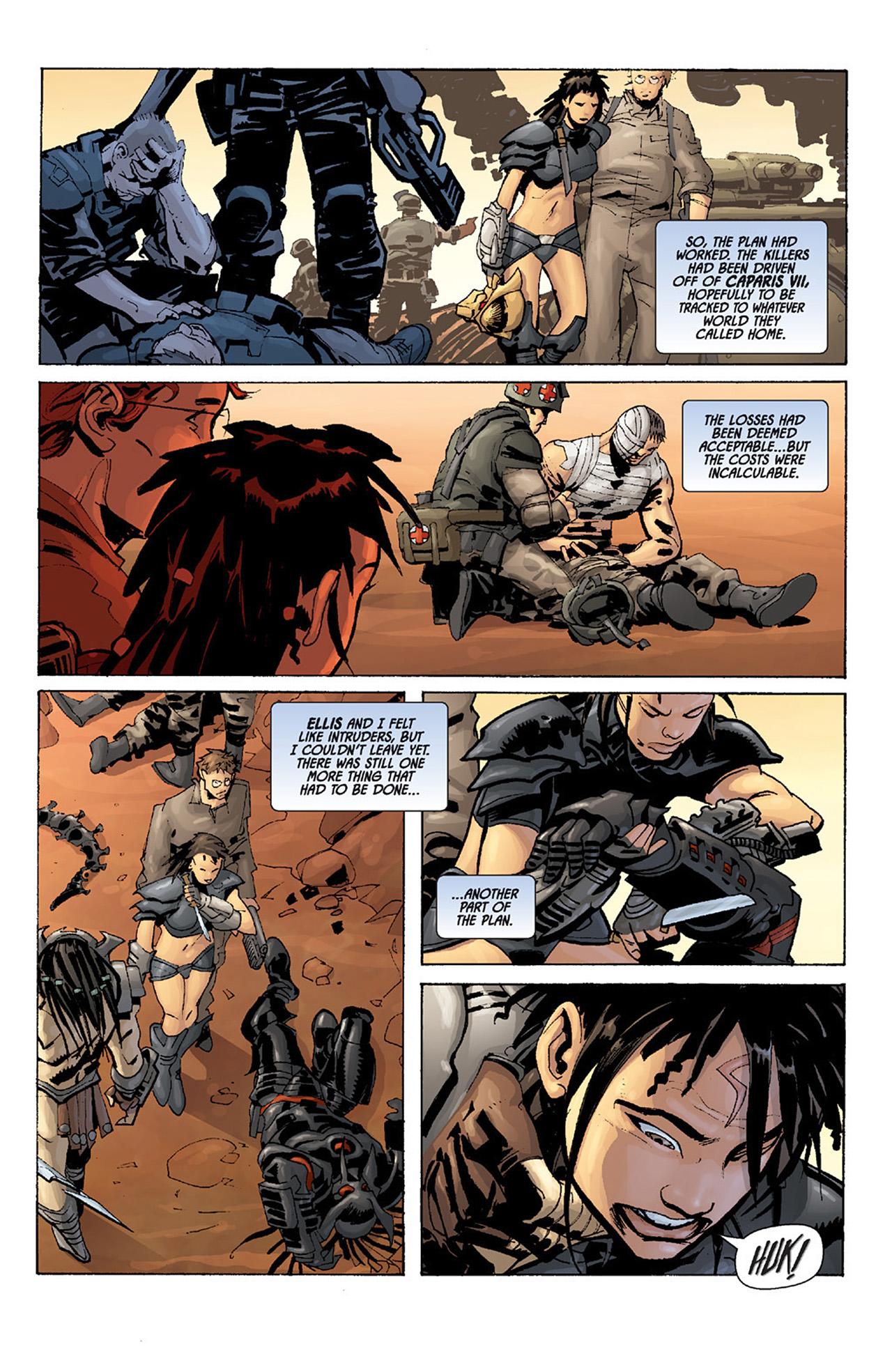 Read online Aliens vs. Predator: Three World War comic -  Issue #5 - 6
