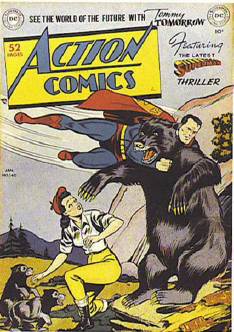 Read online Action Comics (1938) comic -  Issue #140 - 1