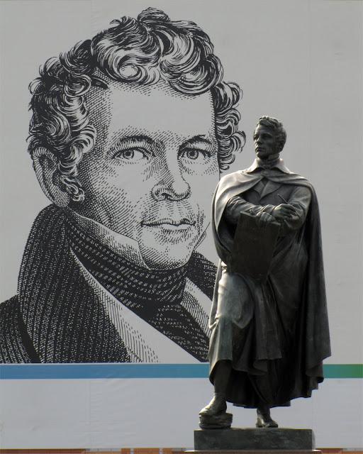 Statue of Karl Friedrich Schinkel by Friedrich Drake, Schinkelplatz, Berlin