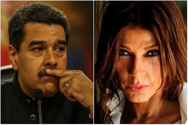 Catherine Fulop dijo que Maduro está más cagao que palo de gallinera