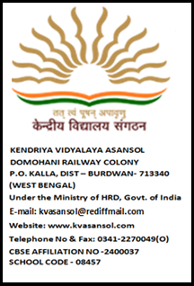 Asansol Kendriya Vidyalaya-KV Contract Basis Job-Walk-In-Interview on 27/02/2016
