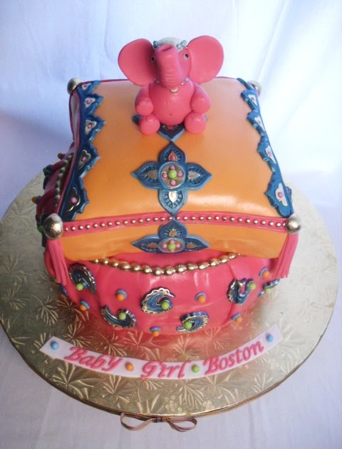 Made Fresh Daily Moroccan Baby Shower Cake
