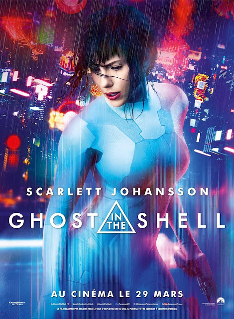 Ghost In The Shell (2017) English Movie HDRip 720p