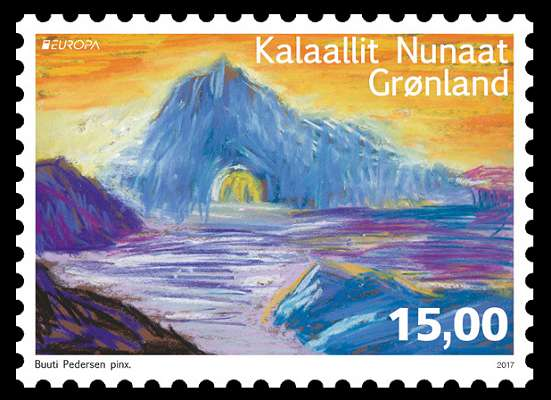 Europa Stamps Greenland 2017