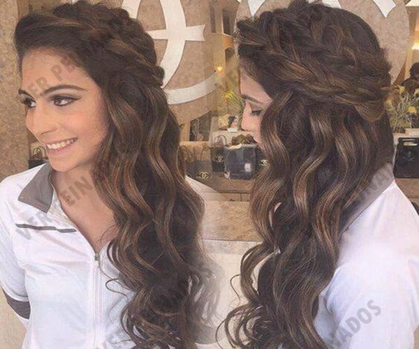 22 Peinados De Noche Ideales Para Fiestas Fotos Peinados