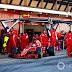 Vettel inicia última semana de testes em Barcelona na frente e Mclaren enfrenta problemas