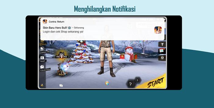 Cara Menghilangkan Notifikasi Aplikasi / Game di Android