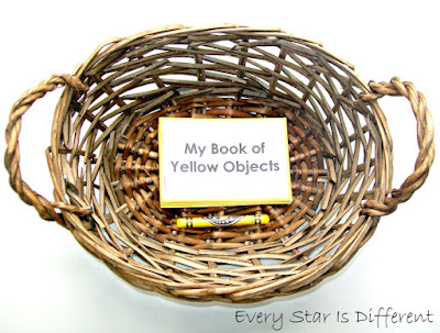 My Book of Yellow Objects (Free Printable)