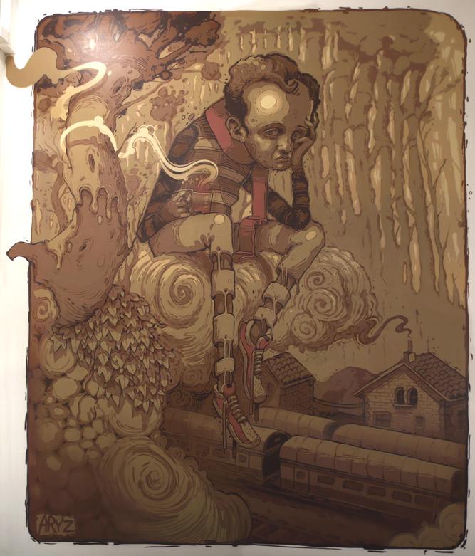 ARYZ: Graffiti Artist-Illustrator-Painter | Tapped Inn
