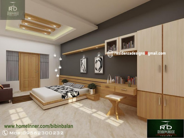 stunning bedroom interior design by residenza designs indian home