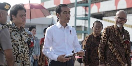 Jokowi Bantu Perbaikan Rumah Warga Dampak Bom Sibolga