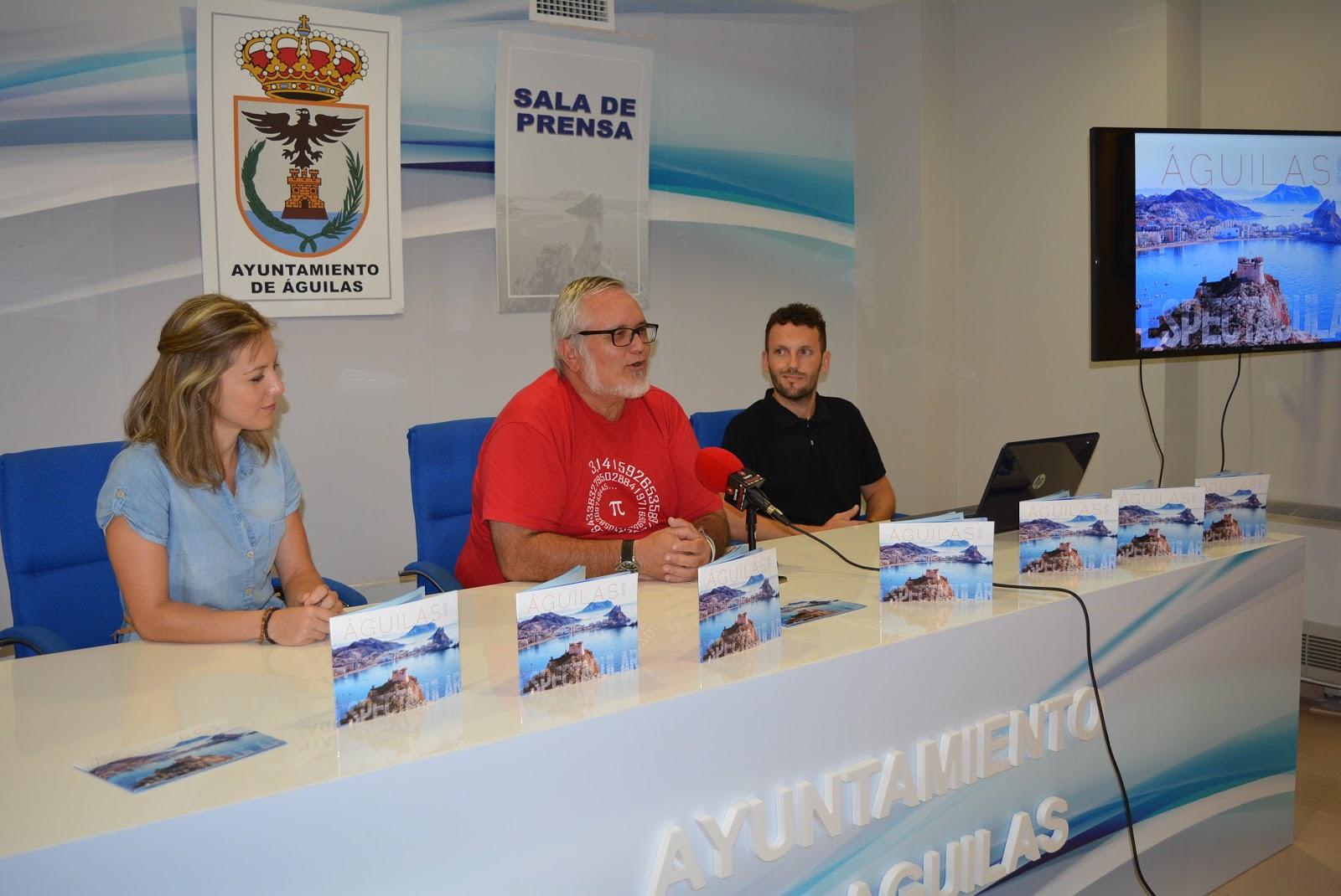Guilas radio 91 4 fm aguimola dise a el nuevo folleto de for Oficina turismo aguilas