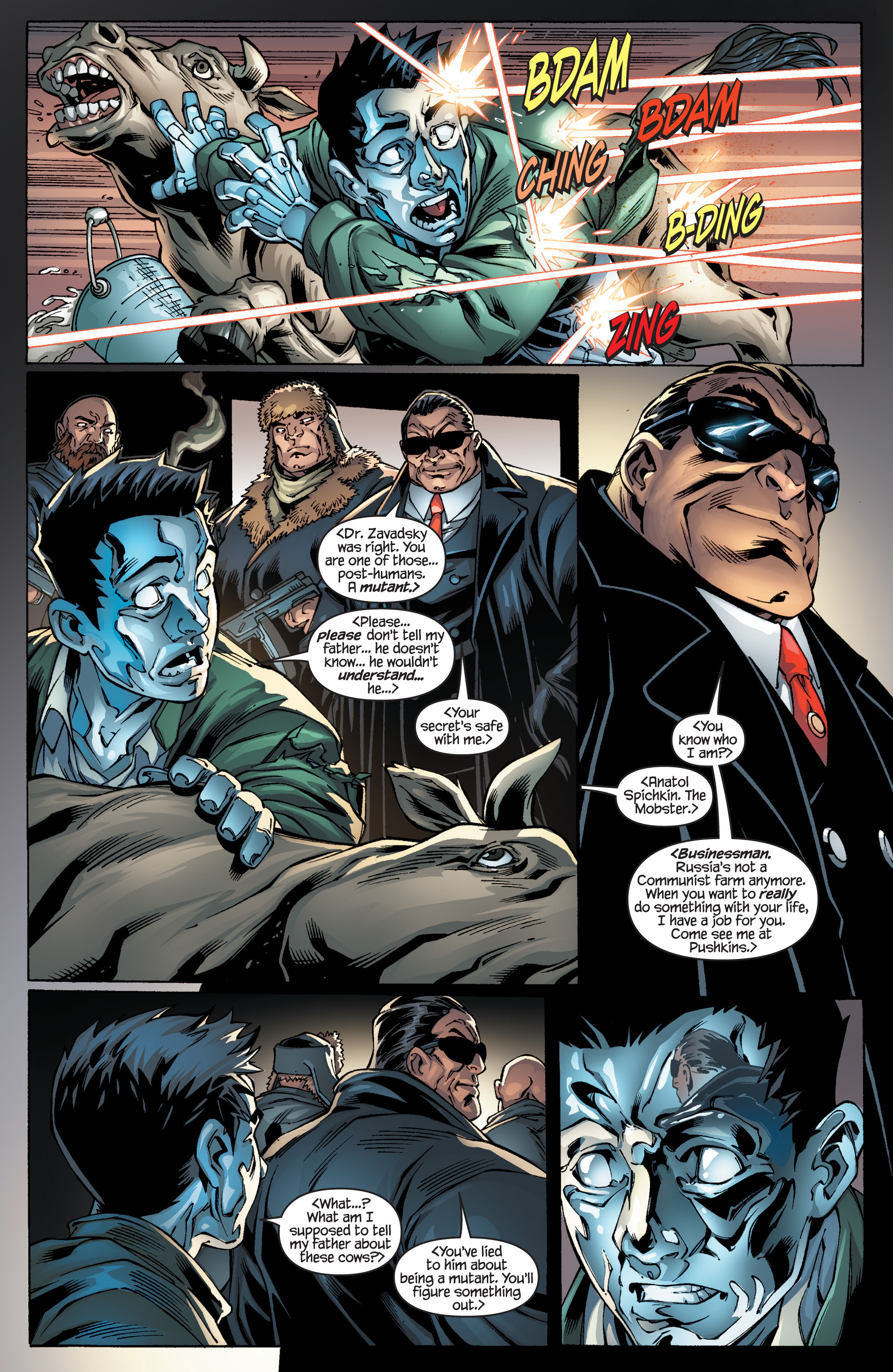 Read online Ultimate X-Men comic -  Issue #94 - 4