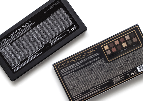 ABH Master Palette by Mario Eyeshadow Packaging
