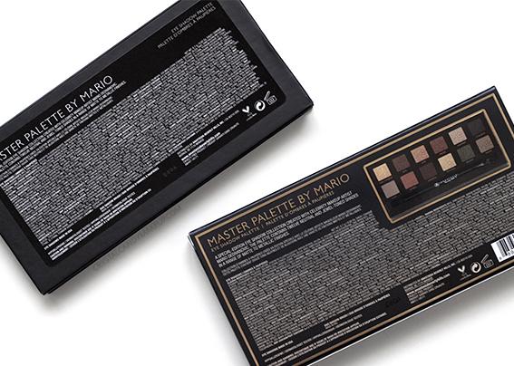 ABH Master Palette by Mario Eyeshadow Packaging