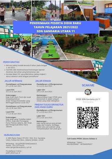 Jadwal PPDB 2021 DKI Jakarta